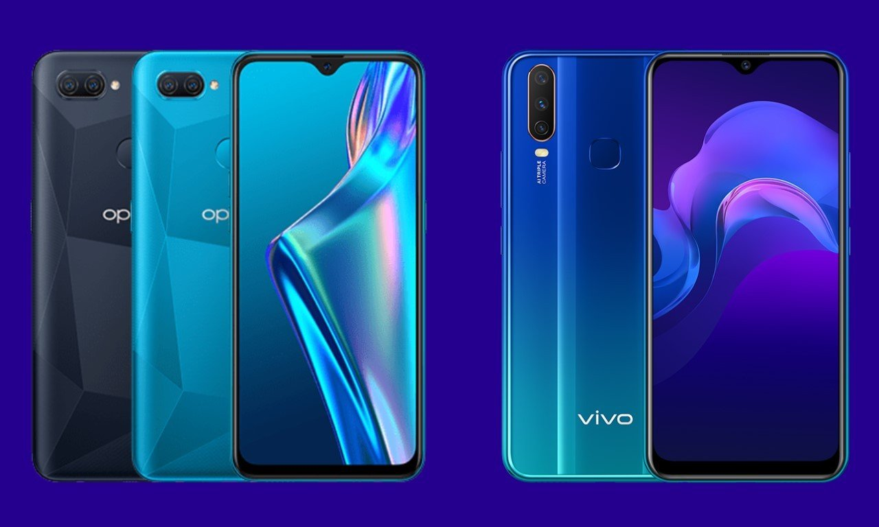 OPPO A12 Vs vivo Y12 Header