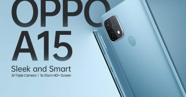 OPPO A15s Color