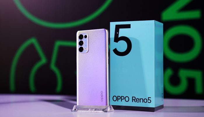 OPPO Reno5 Exhibition