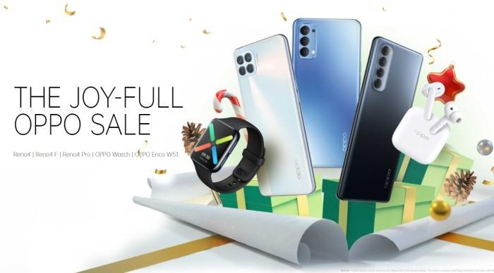 Promo Handphone Akhir Tahun 2020 OPPO