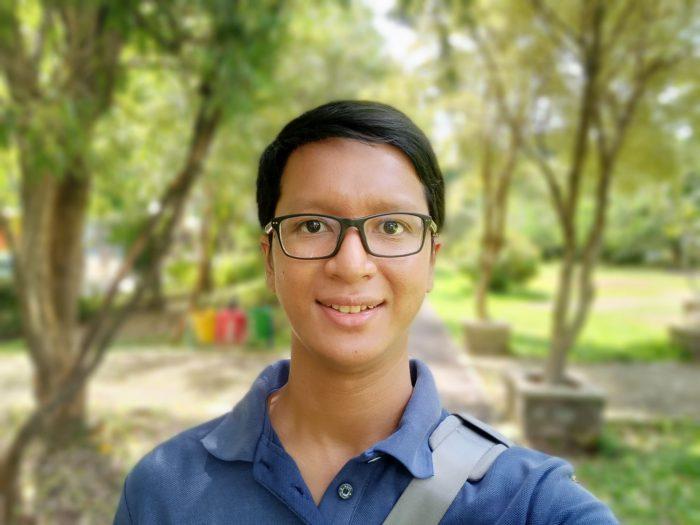 Realme 7 - Kamera 04d - Selfie Portrait Beauty