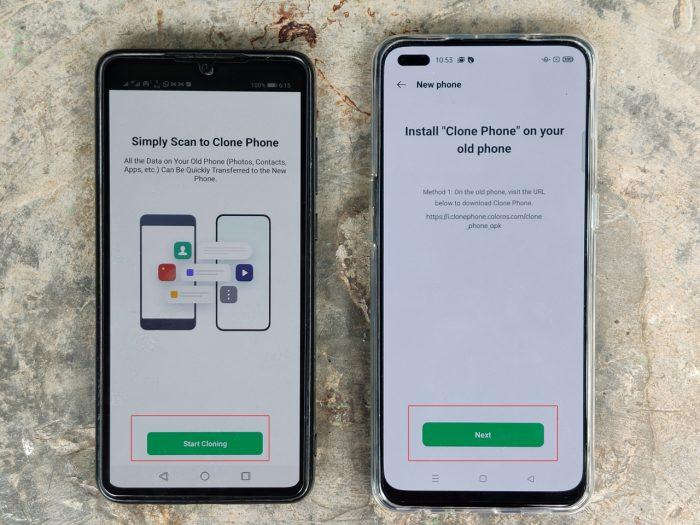 Reno4 F Clone Phone Start Cloning