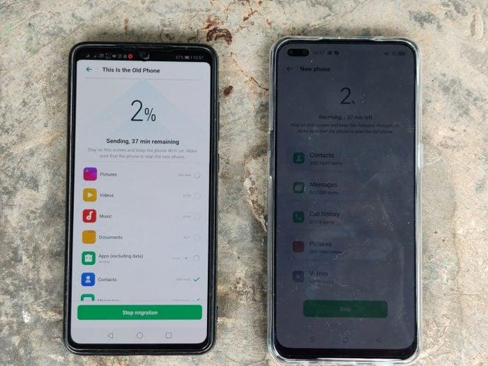 Reno4 F Processing Start Clone Phone