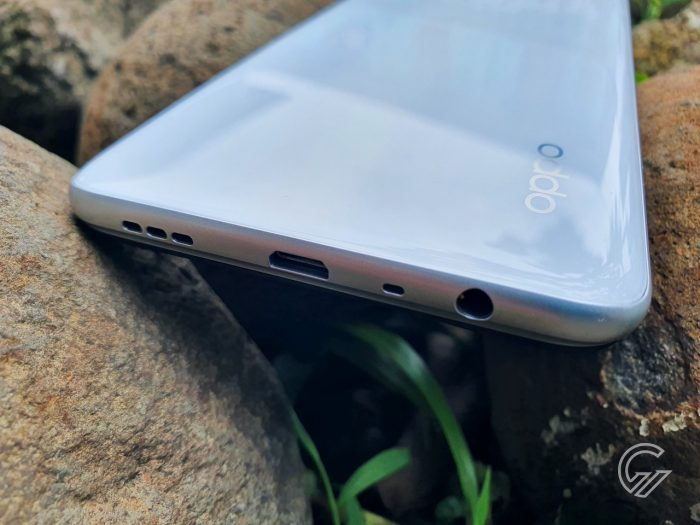 Review OPPO A15 Ports