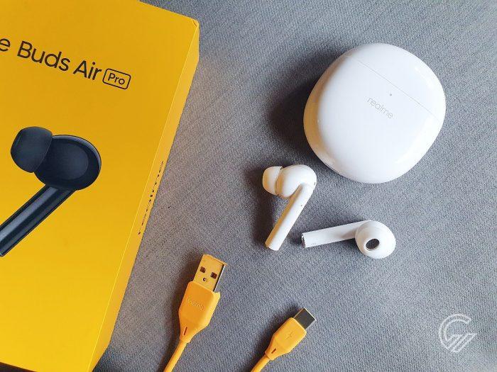 Review realme Buds Air Pro Kelengkapan