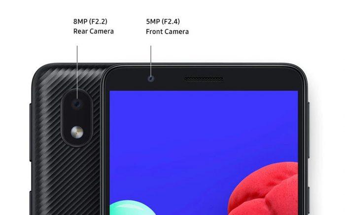 Samsung Galaxy A01 Core Kamera