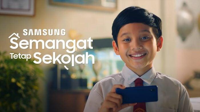 Samsung Galaxy A01 Core Semangat Sekolah