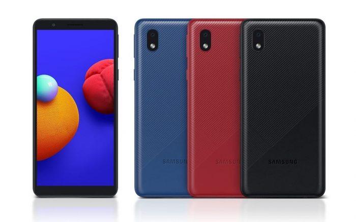 Samsung Galaxy A01 Core Varian Warna