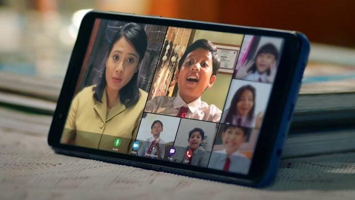 Samsung Galaxy A01 Core Video Call