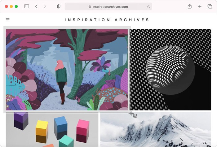 Screenshot Sebagian MacBook