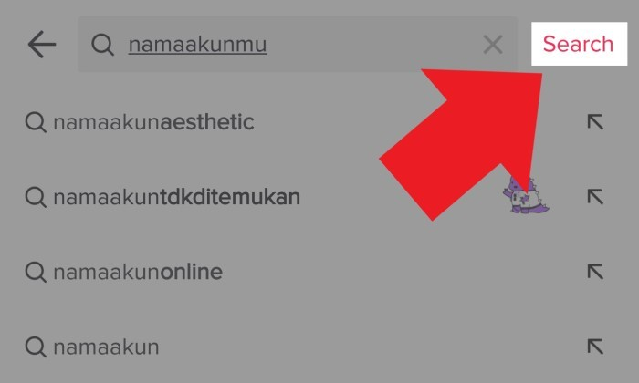 Shadow Ban TikTok Cek Pencarian