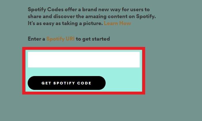Spotify Barcode Dapatkan Kode