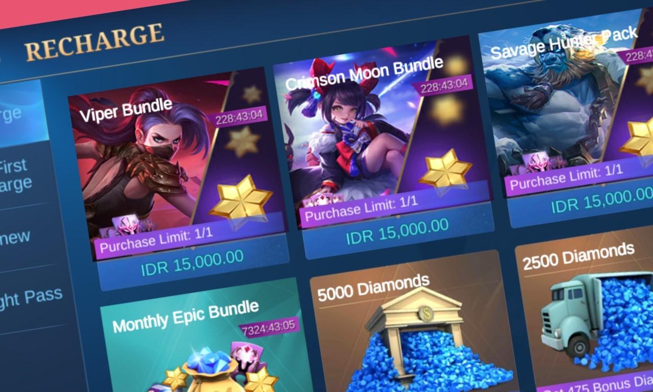 Viper Bundle Mobile Legends - Header