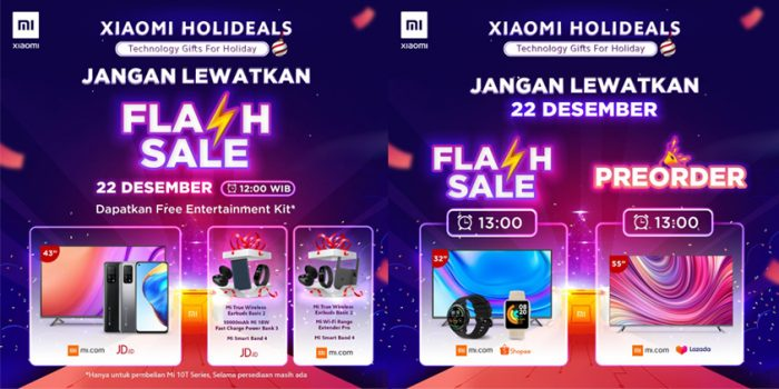 Xiaomi Holideals Flash Sale