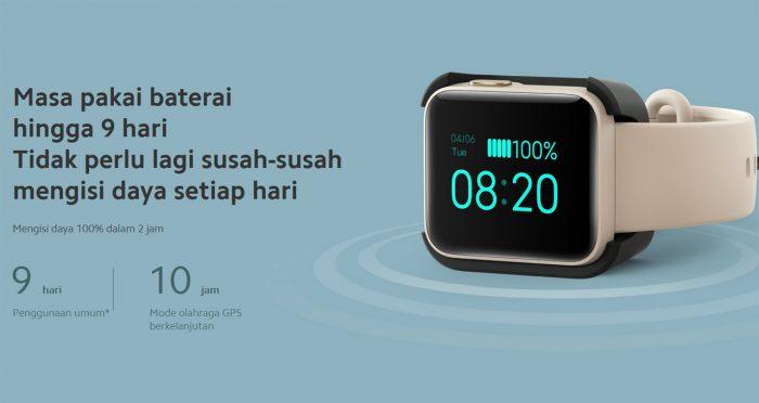 Xiaomi Mi Watch Lite Baterai