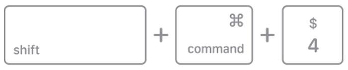 Perintah shift command 4 MacBook
