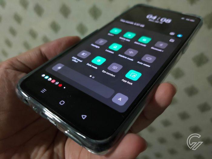 App Lock Shortcut ColorOS 11