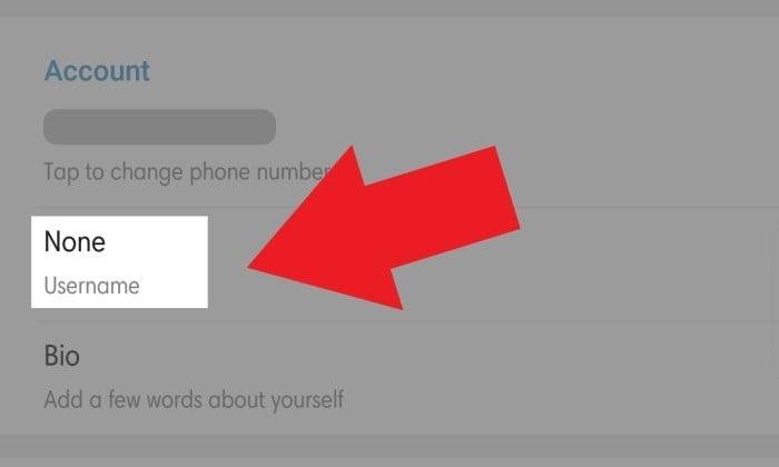 Cara Membagikan ID Telegram - 13