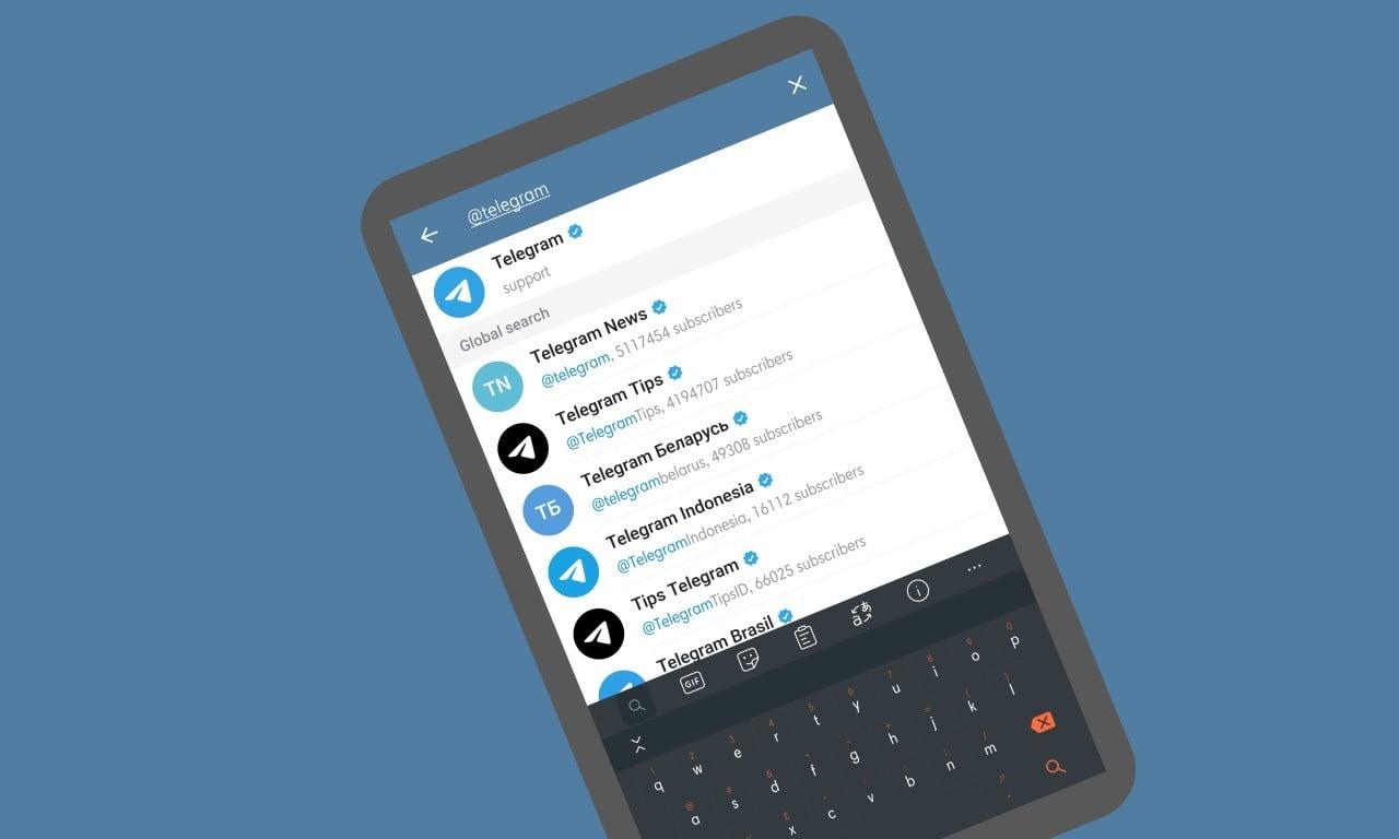 Cara Membagikan ID Telegram - Header