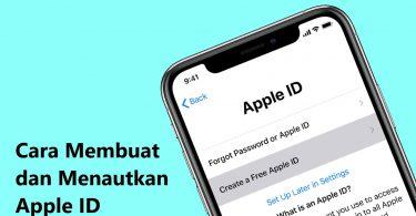 Cara Membuat iCloud dan Menautkannya ke iPhone - Header