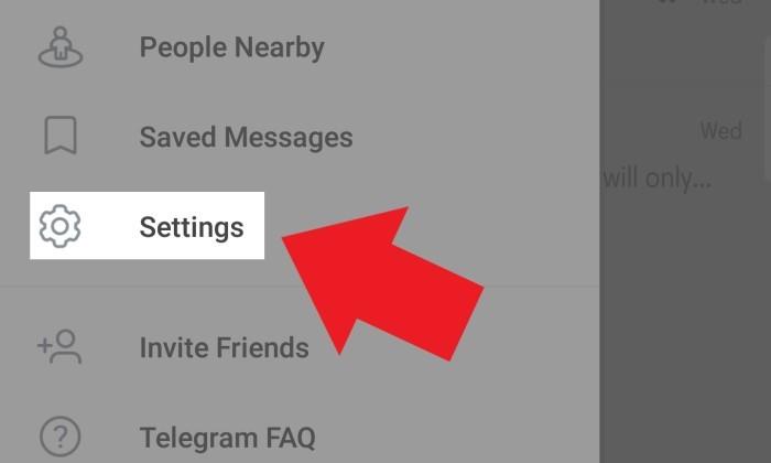 Cara Menghapus Akun Telegram - 4