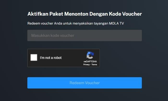 Beli Paket Berlangganan MOLA TV Voucher