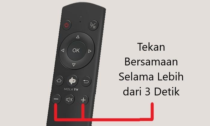 Cara Menonton MOLA TV Remote