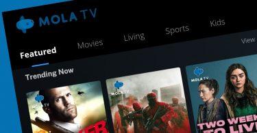Cara Menonton MOLA TV Header