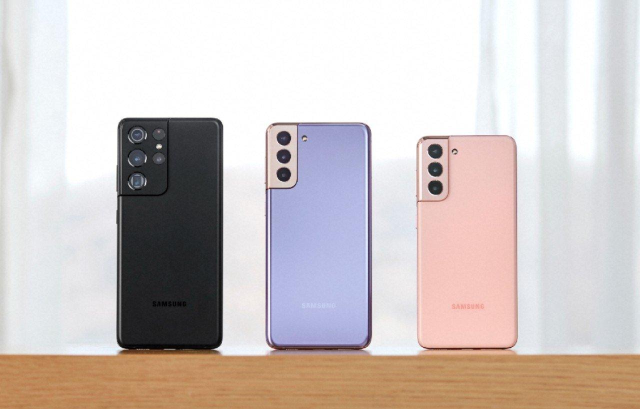 Galaxy-S21_series_pinkvioletblack