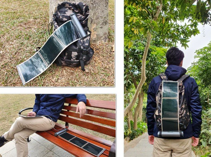 MikiElek Portable Solar Charger All