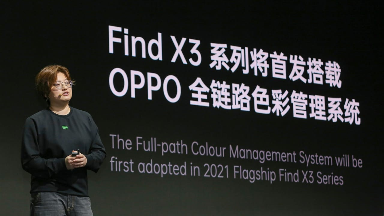 OPPO FInd X3 Full Path Colour