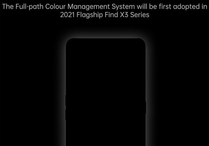 OPPO Find X3 First Full path Colour