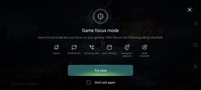 Fokus Game OPPO Reno5