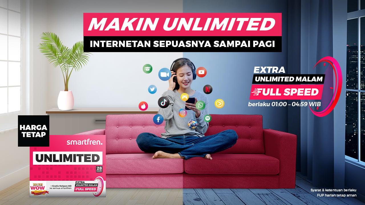 Paket Unlimited Smartfren Header