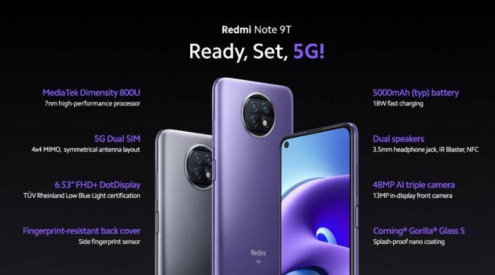 Redmi Note 9T All