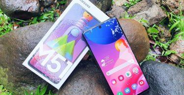 Review Samsung Galaxy M51 Header