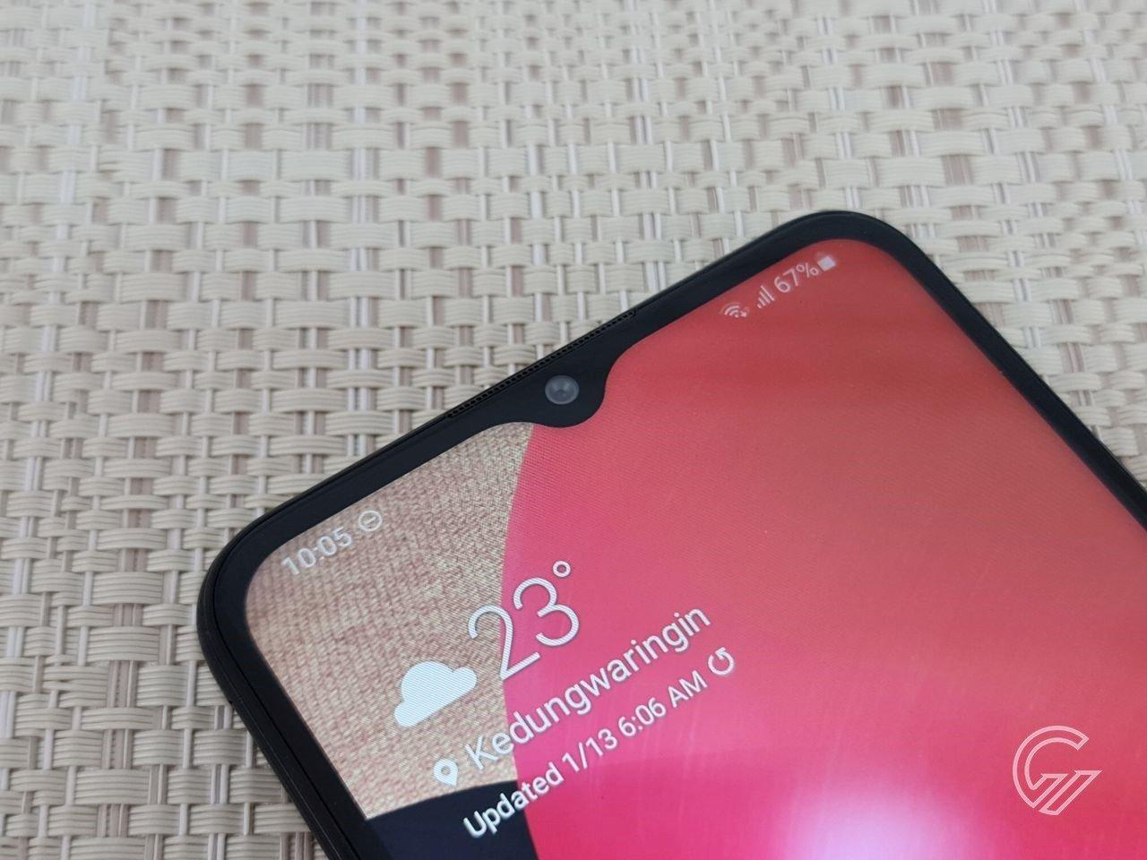 Cara Tethering di Samsung Header