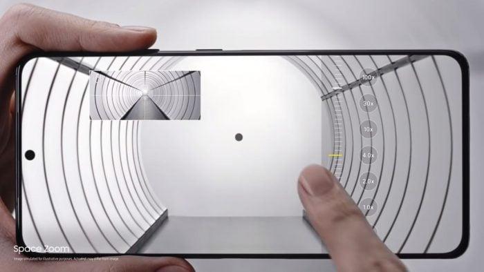 Samsung Galaxy S21 Space Zoom