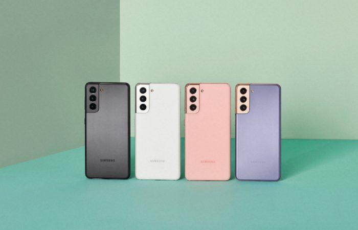 Samsung-Galaxy-S21-Violet-Pink-Gray-White
