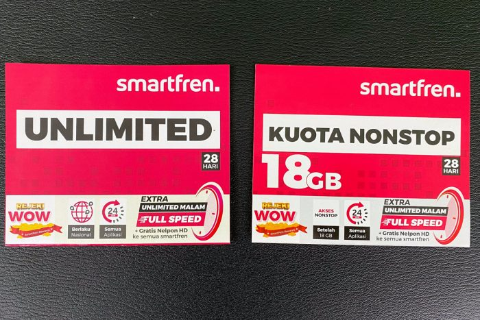 Smartfren Unlimited Kuota Nonstop
