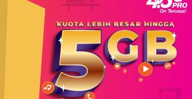 Tri Indonesia Kuota 5GB Feature