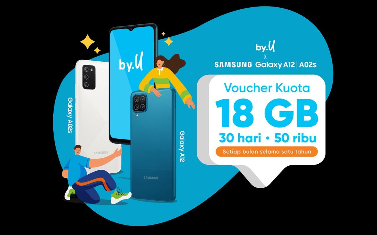 byu x Samsung Bundling Voucher Kuota Header