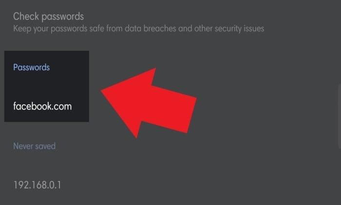 Cara Melihat Password yang Tersimpan di Google Chrome 4