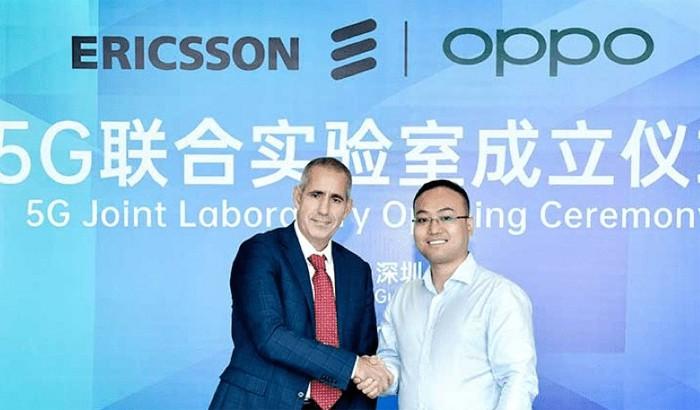 OPPO Erricson join 5G