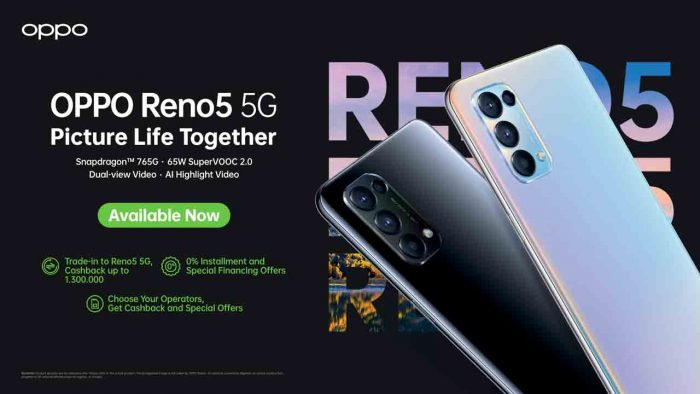 OPPO Reno5 5G Promo