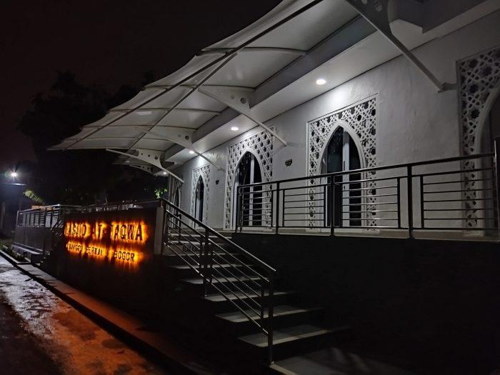 POCO M3 Kamera Belakang Masjid Malam