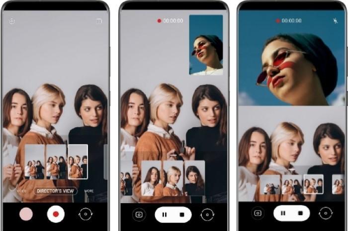 Antarmuka Tampilan Samsung Galaxy S21 Ultra 5G Directors