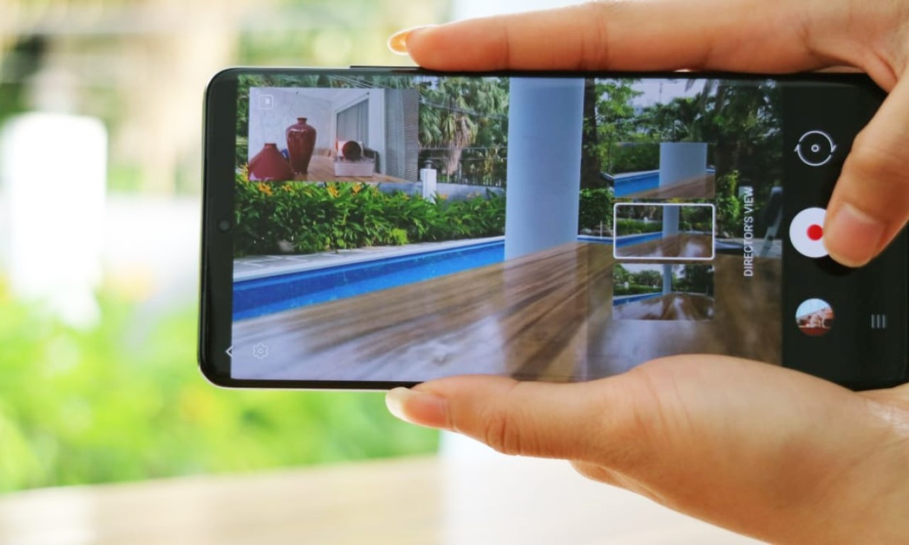 Tampilan Direksi Samsung Galaxy S21 Ultra 5G