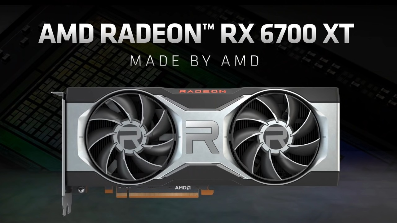 AMD Radeon RX 6700 XT Header