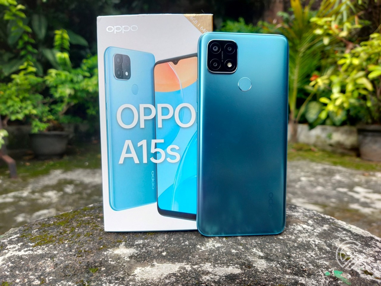 OPPO-A15s-Box